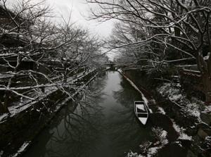 冬_滋賀近江八幡水郷